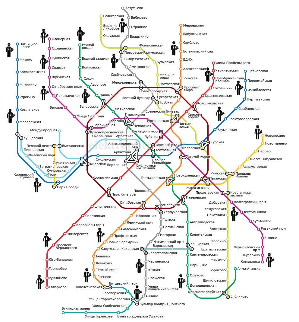 Карта проживания мастеров ЭлектроПлитРемонт