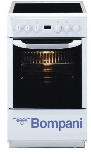 Электрическая плита Bompani со стеклокерамикой