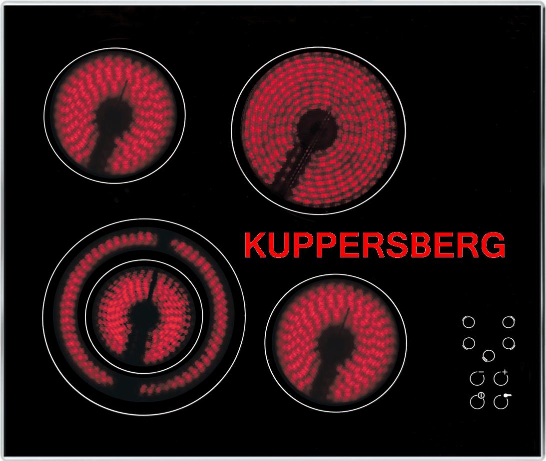 Электроплита Kuppersberg с конфорками