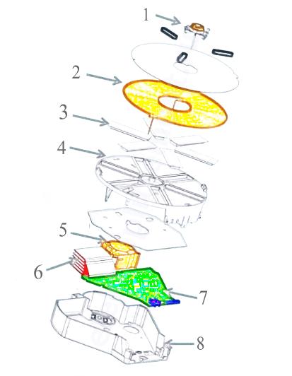 Схема индукционной конфорки