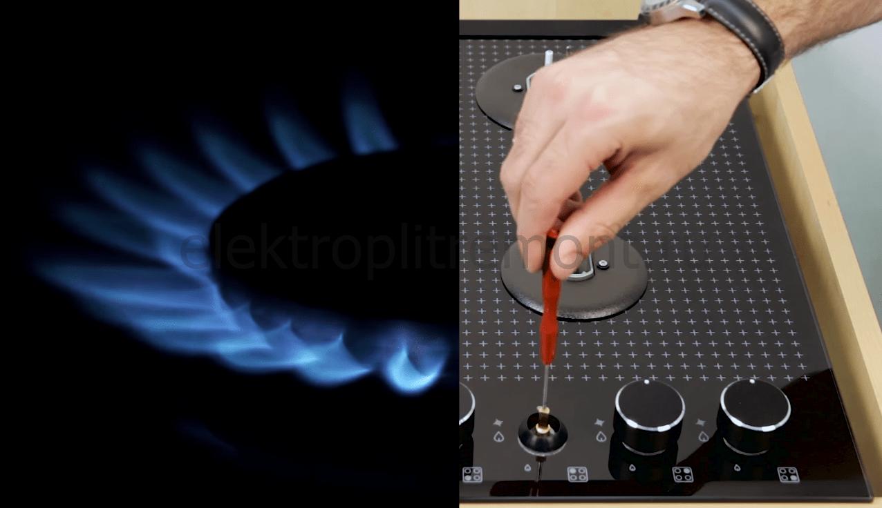 Как настроить горелку